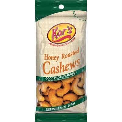 Kar's 1.5 Oz. Honey Cashew Nuts