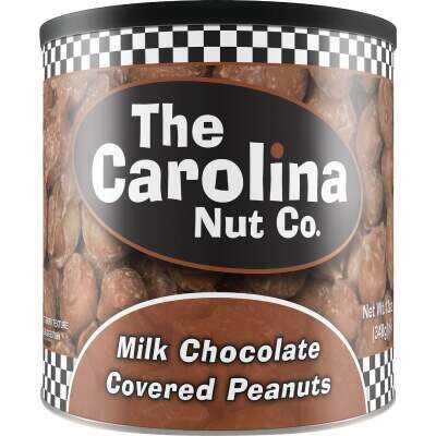 The Carolina Nut Company 10 Oz. Chocolate Covered Peanuts